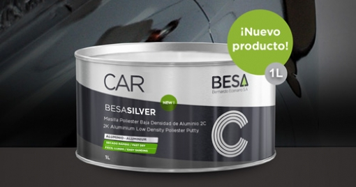 BESA-SILVER car putty